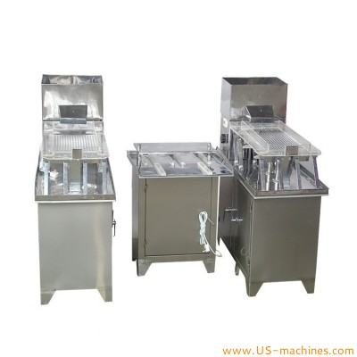 Semi automatic double station capsule filling machine small capsule powder grain filler equipment pharm lab capsule production machinery