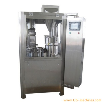 Automatic capsule filling machine 12000 pcs/hour pharmaceutical powder pellet filler equipment GR-200 high accuracy electric type capsule filler