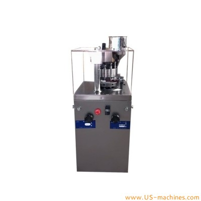 Automatic tablet single pressing machine GMP standard tablet pill making machine rotary type pharmaceutical candy tablet camphor production equipment
