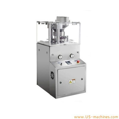 Automatic tablet pressing machine rotary type big size tablet pill single pressing making pharmaceutical pill tablet equipment