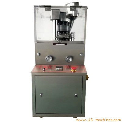 Double color tablet pressing machine round tablets special-shaped tablets machine fully automatic die rotary calcium pill pressing equipment