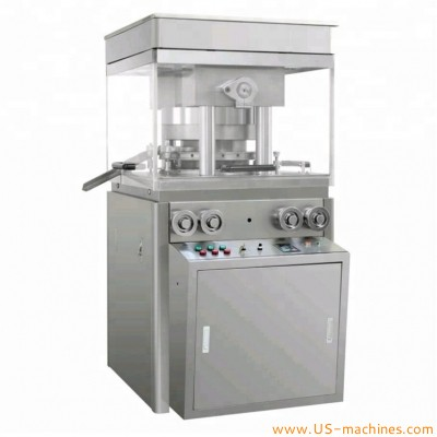 27 sets dies continuous automatic tablet pressing machine effervescent detergent cubes double roller big tablet multiple pill rotary pressing machinery
