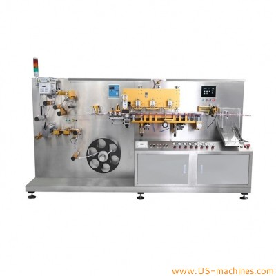 Mini hotel disposal toothpaste tube making production machine soft laminated small tube cuting forming making production mini machine