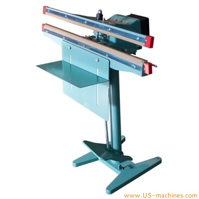 Semi automatic induction heat plastic tube bag sealing machine food pedal manual bag heat sealer equipment