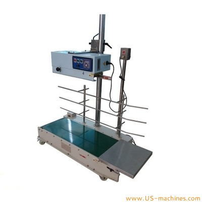 40KG customized continuous band bag sealing machine vertical plastic bag heavy duty heat sealer machine