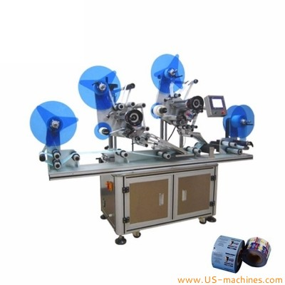 Automatic label film roll to roll RFID label sitcker labeling machine roll to roll high speed labeling rolling machine