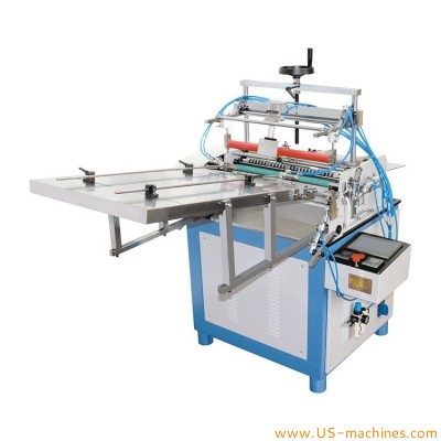 Automatic paper tube bottle carton cans hot melt glue labeling machine paper label hot glue applicator for tea chips gift round compostie paper carton tube with loading device