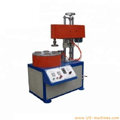 Semi automatic paper tube core curling paper pipe bottle grooving machine paper curl tube folding outward inward equipment