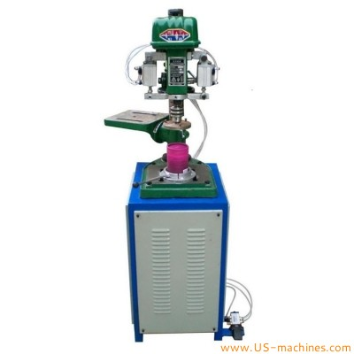 Semi automatic paper carton tube can crimping curling machine for composite cans cosmetic gift tea toy paper tube