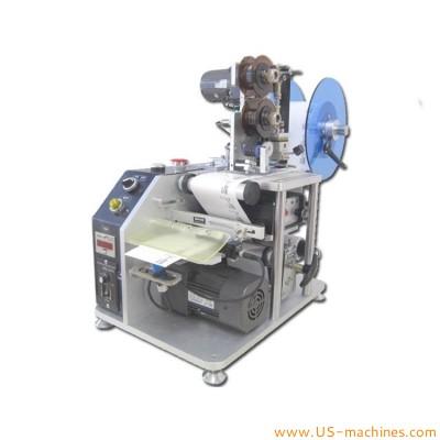 Desktop label dispensing peeling machine with coding printer function