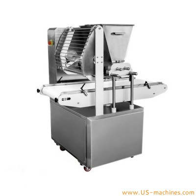 Automatic buscuit extruder machine twist flowers wire cutting filling cut long strips cake cookies busuit squeeze making extruding machine
