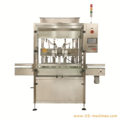Automatic liquid oil water lotion bottle tracking filling machine with double nozzles fast moving filler customized line