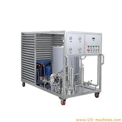 Perfume making freezing mixing filter production tank perfume making equipment 100L-1000L perfume fragrance freezing mixer tank machine