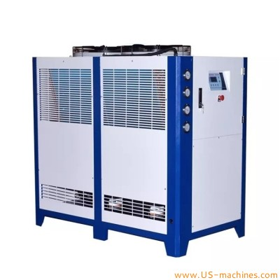 Water cooled industrial chiller machine for storage mixing tank high power cooling system for food cosmetic chemical equipment industrials