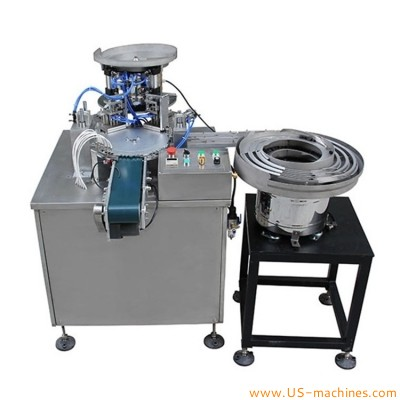 Automatic small gasket padding assembly machine