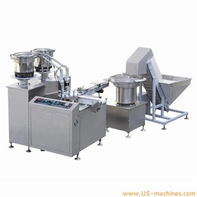 Automatic cap lining machine cap assembling machine