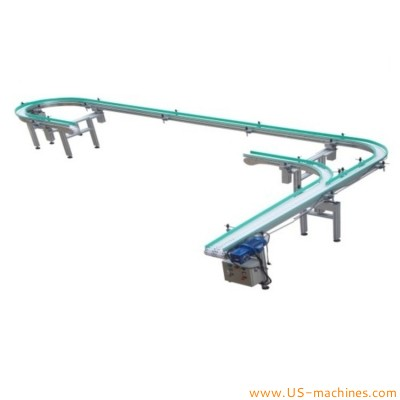 Flexible customized conveyor food stainless steel chain conveyor standard coneyor customized length width conveying machine with speed controller