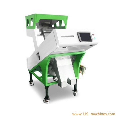 Intelligent CCD food rice corn wheat bean seed granule sorting machine agriculture product automatic color sorter machine