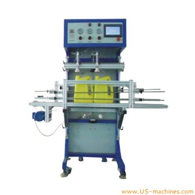 Double heads bottle leaking testing machine double nozzle leak test machine leakaging working equipment