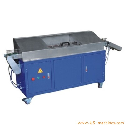 Automatic bottle various cap food nuts dried fruit surface dust remover cleaning machine cap dust removing equipment