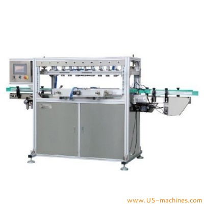 Automatic single heads double heads multi heads leak tsting machine for chemical food cosmetic pharm plastic bottle pail drum tank bucket leakage testing machine with rejection system