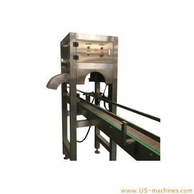 Automatic 5 gallon bottle bucket barrel drum cap plug removing machine 5 gallon bottle plastic cap discharging machine