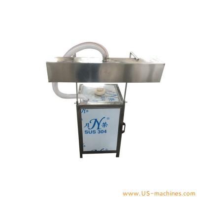 Semi automtaic 5 gallon bottle bucket barrel neck sleeve shrinking sealing packing machine steam sleeving applicator tunnel equipment