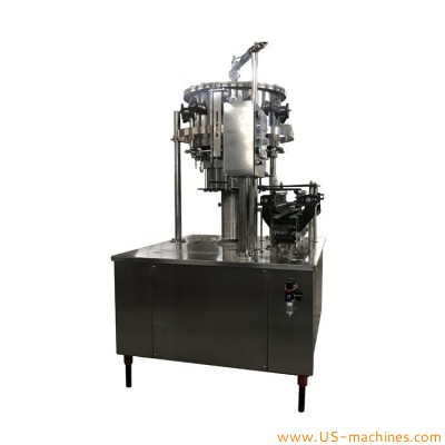 Plastic bottle aerated beverage filling machine carbonated beverage canning equipment PET carbonated beverage salt Soda filling machine