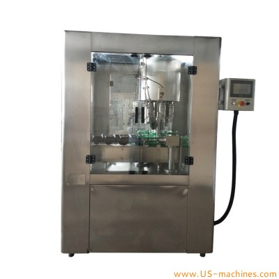 Automatic high speed 6 heads plastic bottle capping machine for wine water juice oil round square bottles