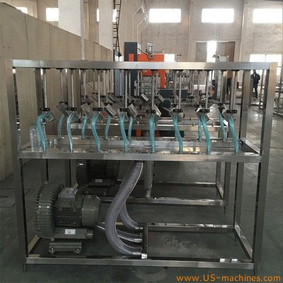 Automatic glass bottle air drying tunnel drying machine wet bottle knife type drying machine can jar drying equipment