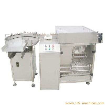 Automatic ultrasonic plastic glass bottle washing machine bottle washing ultrasonic cleaning machine