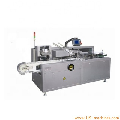 Automatic high accuracy GMP standard bottle bag tube blister cartoning machine box encasing line with paper manual leaflet inserting system
