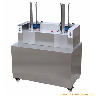 Doubel station aluminum plastic tablet capsule deblister machine double deblistering machine