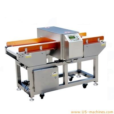 Food metal detecting machine food products security conveyor belt metal detector machine