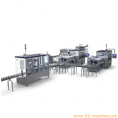 Fully automatic 6000 water bottles per hour pure drink water production bottling line water bottle plant
