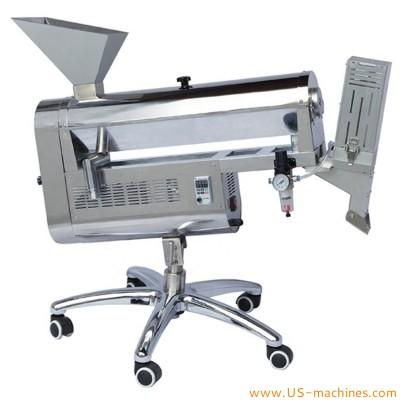Pharmaceutical Automatic Soft Gel Oil Capsule Polishing Sorting Machine  Capsule washing polishing brushing machine