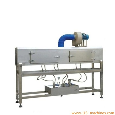 Automatic bottle steam heating shrinking tunnel machine stainless steel PVC sleeve label steam shrinking tunnel steam sealing equipment