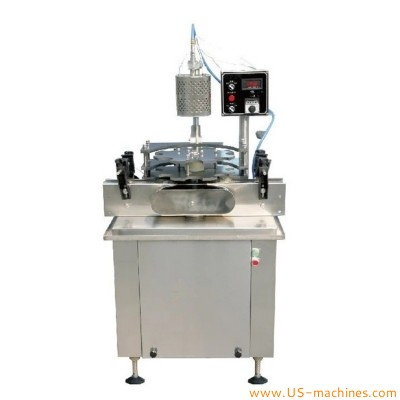 Automatic wine cork cap heat sleeve shrink sealing machine heating head shrink wrapping machine single station customized 6 heads heat cork sealer