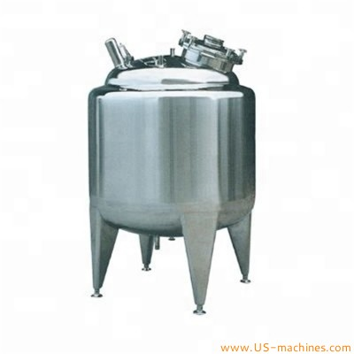 Stainless steel liquid filling material storage tank food grade liquid store tank essential oil SUS storage tank 500L 1000L 1500L 2000L