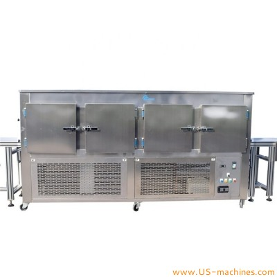 Lipstick Cooling Tunnel Cooler chiller machine Freezer Lip Balm Freezing Tunnel With Air-Cooling System