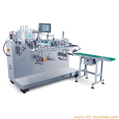 Automatic horizontal premade bag cosmetic pouch face mask filling packing sealing machine stand up bag mask packing equipment