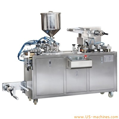 Alu PVC honey jam butter perfume liquid pod capsule forming filling sealing packing machine chocolates butter biscuits snacks food capsule packaging machine