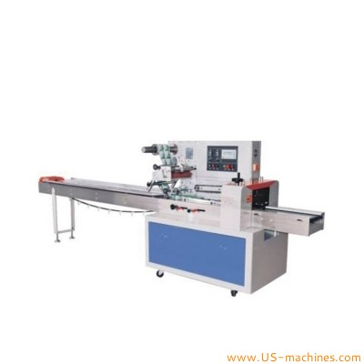 Automatic horizontal high speed soap candy biscuit pipes bread drug daily appliances industrial parts pillow bag flow packing machine