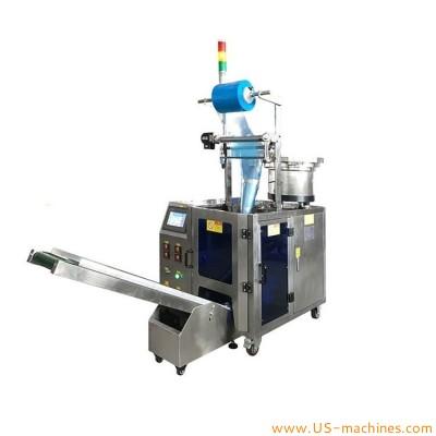 Automatic single vibrating bowl feeding bag filling sealing packaging machine bagger packing equipment