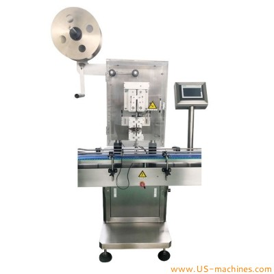 Automatic Desiccant Inserting Machine Tablet pill bottle Desiccant inserter Filling Machine