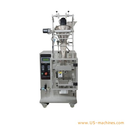 Automatic screw auger bag sachet stikc vertical filling sealing packaging machine for drink powder mag powder coffee powder flour