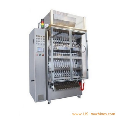 Automatic 12 lanes multi lanes bag packaging machine VFFS liquid cream jam bagger equipment
