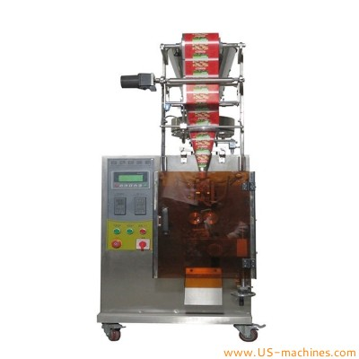 Automatic volume cup measure granule powder vertical filling sealing packing machine for seeds nuts bags sachet sitck VFFS equipment