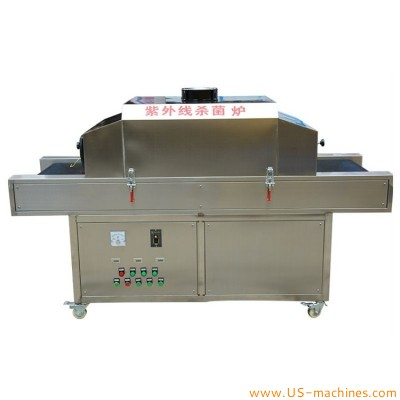 UV Sterilizer Tunnel UV Light Sterilization Machine Ultraviolet Furnace Food Grade Sterilizing Oven Equipment