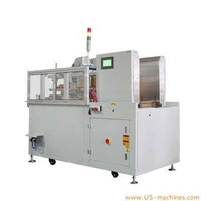 Automatic horizontal carton erecting forming machine horizontal type case box carton erector machine